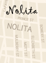 Nolita Shopping Map