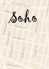 Soho Shopping map